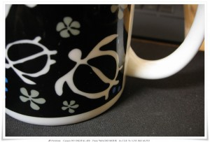Coffeecup   IXY DEGITAL450 MACRO MODEで撮影
