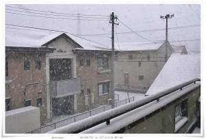 雪景色 2011-01-16:Yokkaichi
